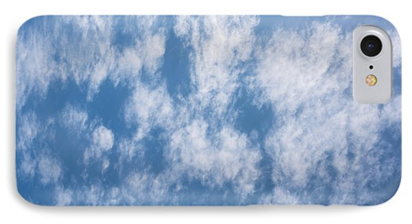 Look Up Not Down Clouds IPhone Case by Terry DeLuco