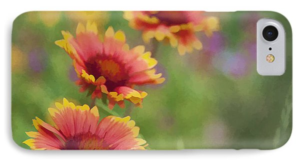 IPhone Case featuring the photograph Look...a Flower by John Crothers