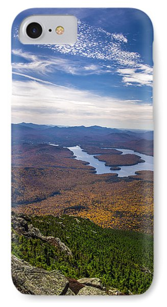 Lookin Down On Lake Placid IPhone Case