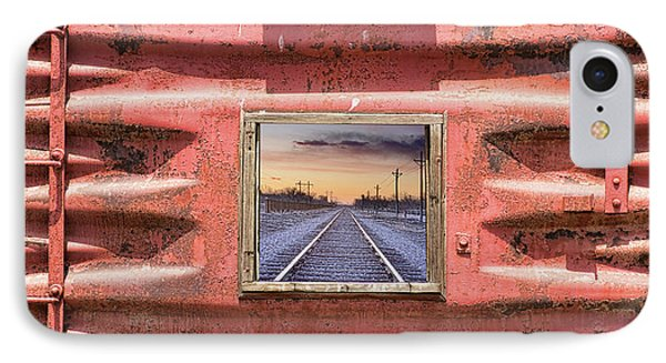 IPhone Case featuring the photograph Looking Back by James BO Insogna