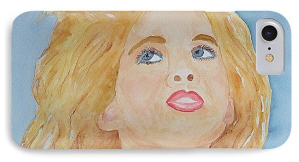 IPhone Case featuring the painting Looking Back by Sandy McIntire