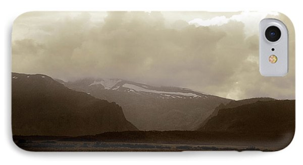 IPhone Case featuring the photograph Looking Back by Thomas Bomstad