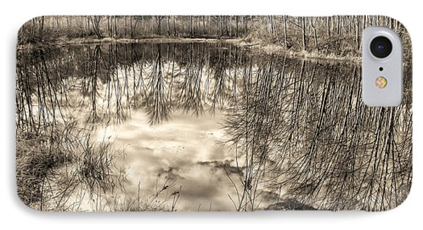 IPhone Case featuring the photograph Looking Down by Betsy Zimmerli