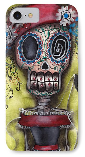 Looking For Love IPhone Case by  Abril Andrade Griffith