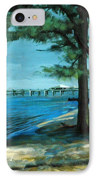 IPhone Case featuring the painting Looking For Shade by Suzanne McKee