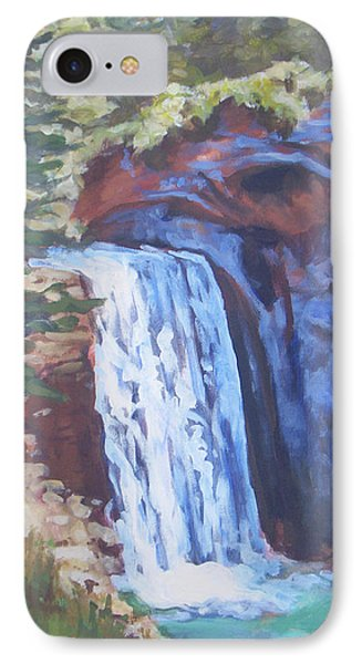 Looking Glass Falls Phone Case by Carol Strickland