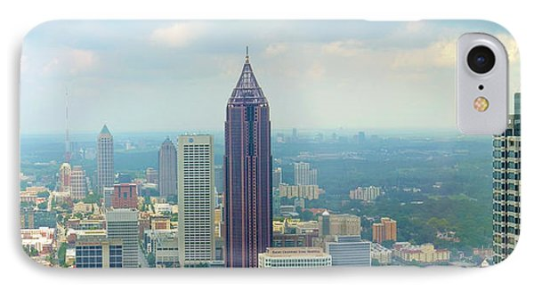 IPhone Case featuring the photograph Looking Out Over Atlanta by Mike McGlothlen