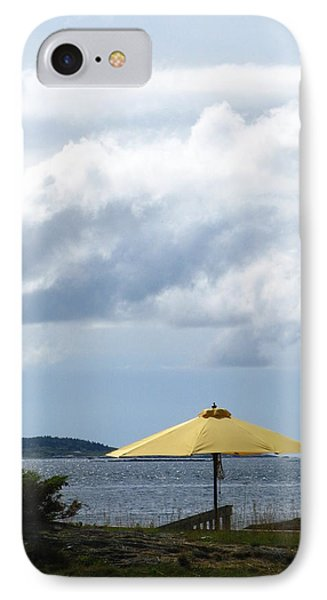 Looking Out To Sea IPhone Case