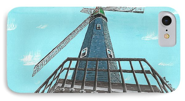 Looking Up At A Windmill IPhone Case