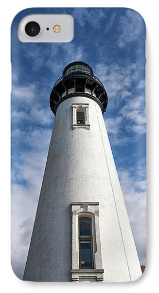 IPhone Case featuring the photograph Looking Up At The Lighthouse by Mary Jo Allen
