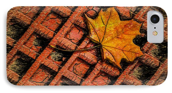 Looks Like Another Leaf IPhone Case by Paul Wear