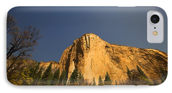 IPhone Case featuring the photograph Looming El Capitan  by Kim Wilson
