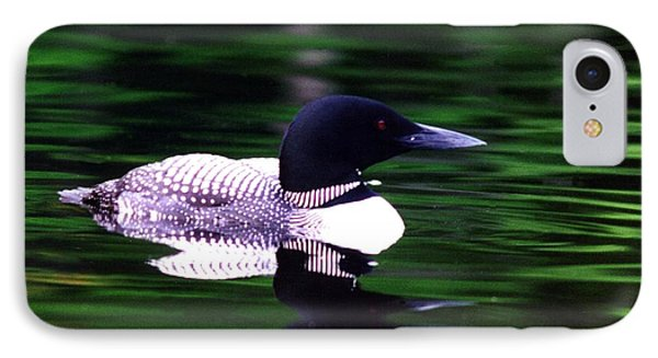 IPhone Case featuring the photograph Loon On The Lake by Rick Frost