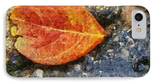 Loose Leaf IPhone Case by Jeff Kolker