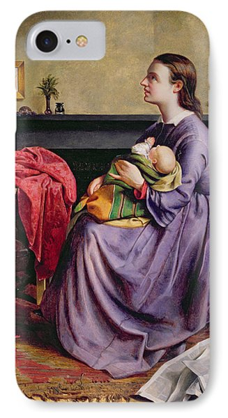 Lord - Thy Will Be Done IPhone Case by Philip Hermogenes Calderon