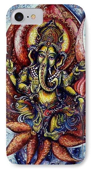 Lord Ganesha 1 IPhone Case by Harsh Malik