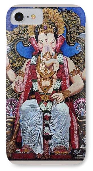 Lord Ganesha. Lalbaug Raja IPhone Case