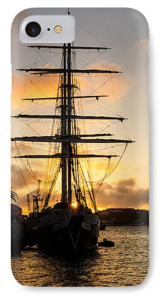 Lord Nelson Sunrise IPhone Case by Jeff at JSJ Photography