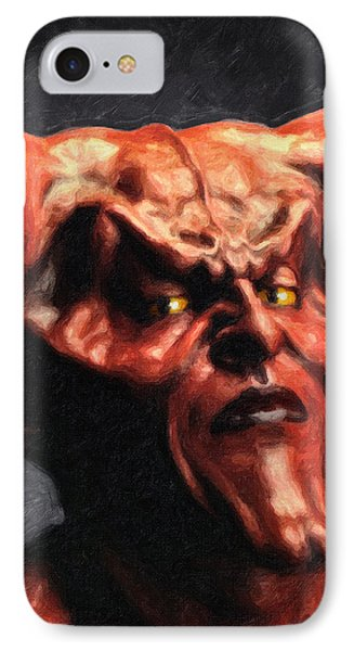 Lord Of Darkness IPhone Case by Taylan Apukovska