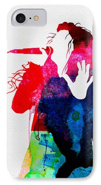Lorde Watercolor IPhone Case by Naxart Studio