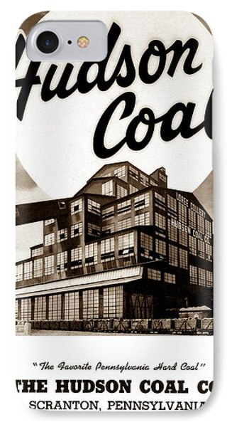 Loree Colliery Larksville Pa. Hudson Coal Co  IPhone Case