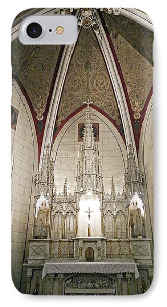 IPhone Case featuring the photograph Loretto Chapel Santa Fe by Kurt Van Wagner