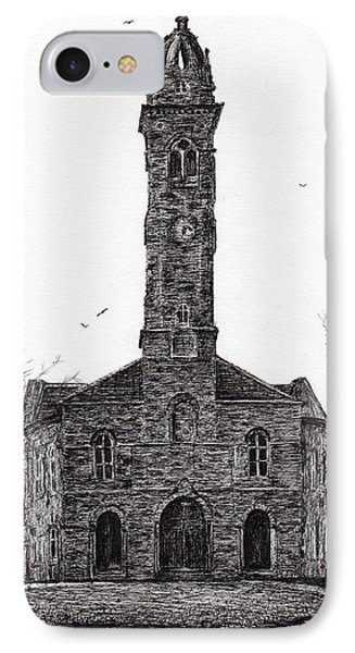Lorne And Lowland Parish Church IPhone Case by Vincent Alexander Booth