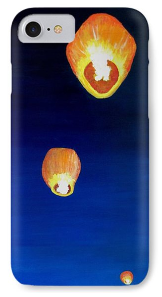 Lorraine's Lanterns Phone Case by Jack Skinner
