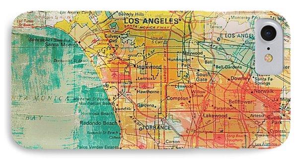 Los Angeles Coast  IPhone Case