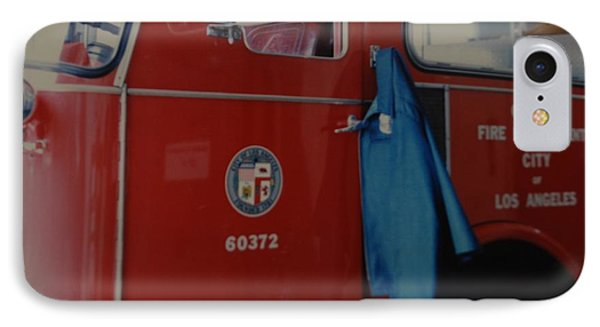 Los Angeles Fire Department Phone Case by Rob Hans