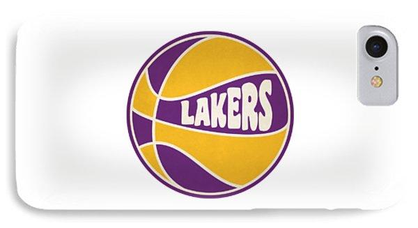 Los Angeles Lakers Retro Shirt IPhone Case