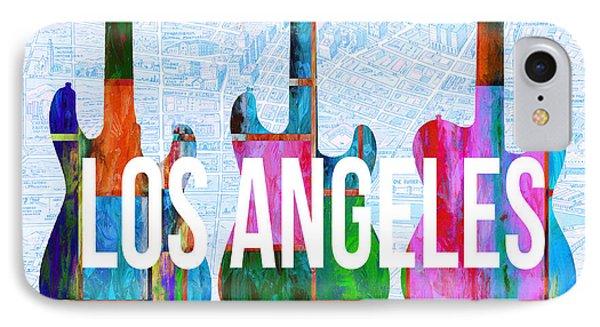 Los Angeles Music Scene IPhone Case