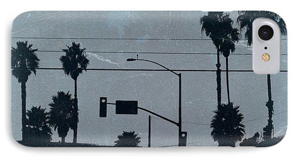Los Angeles IPhone 7 Case by Naxart Studio