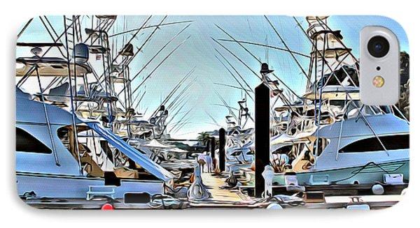 Los Suenos Dock IPhone Case by Carey Chen