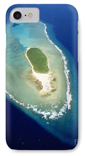 Losiep Atoll IPhone Case by Mitch Warner - Printscapes