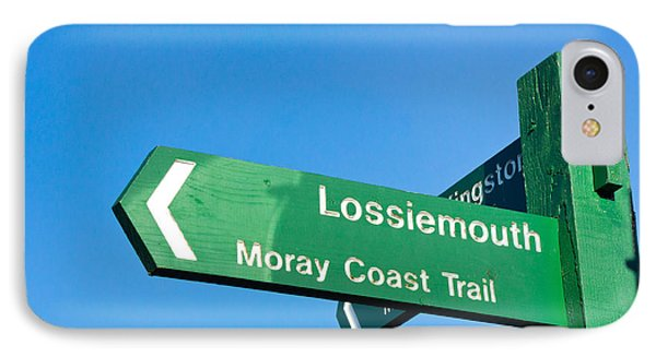 Lossiemouth IPhone Case by Tom Gowanlock