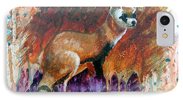 Lost Black-footed Ferret IPhone Case
