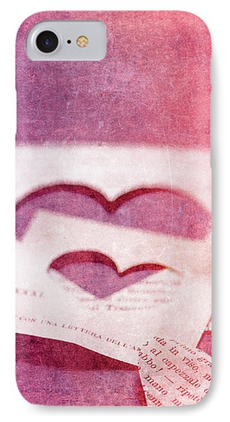 Lost Hearts Phone Case by Rebecca Cozart