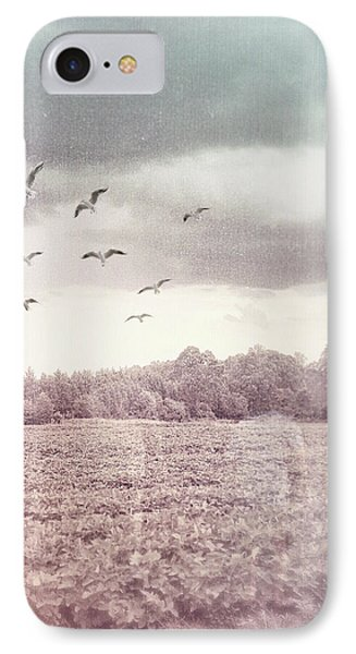 Lost In The Fields Of Time IPhone Case