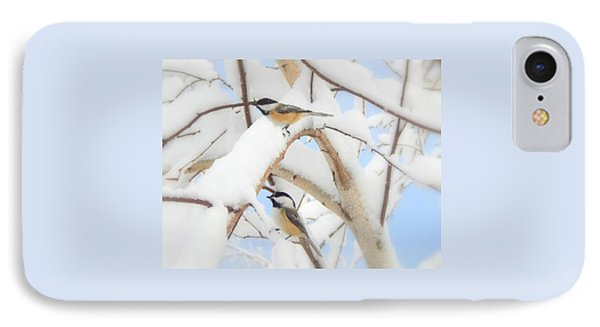 Lost In The Snow IPhone Case by Karen Cook