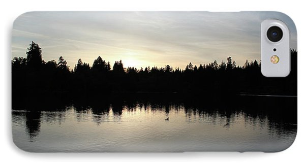 Lost Lagoon IPhone Case by Wilko Van de Kamp