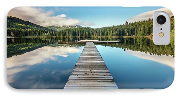 IPhone Case featuring the photograph Lost Lake Dream Whistler by Pierre Leclerc Photography