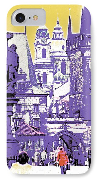 Lost Prague IPhone Case by Ira Shander