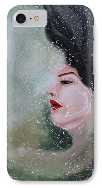 IPhone Case featuring the painting Lost  by Saranya Haridasan