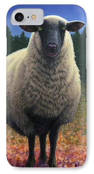 Lost Sheep IPhone Case by James W Johnson