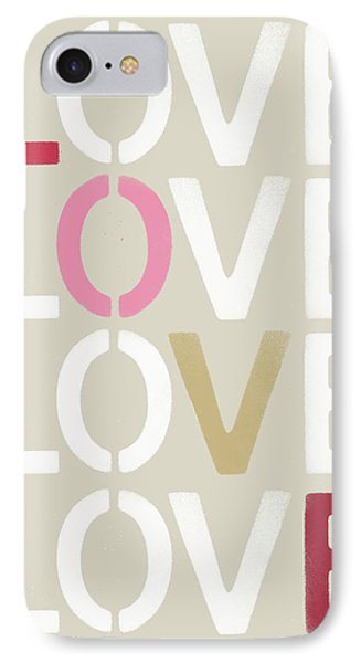 IPhone Case featuring the mixed media Lots Of Love- Art By Linda Woods by Linda Woods