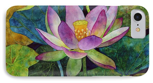 Lotus Bloom IPhone Case by Hailey E Herrera