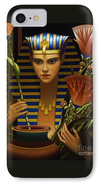 Lotus Phone Case by Jane Whiting Chrzanoska