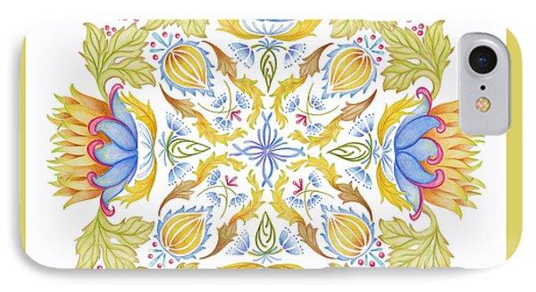 Lotus Mandala IPhone Case by Stephanie Troxell