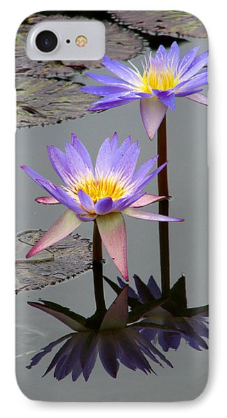 IPhone Case featuring the photograph Lotus Reflection 4 by David Dunham